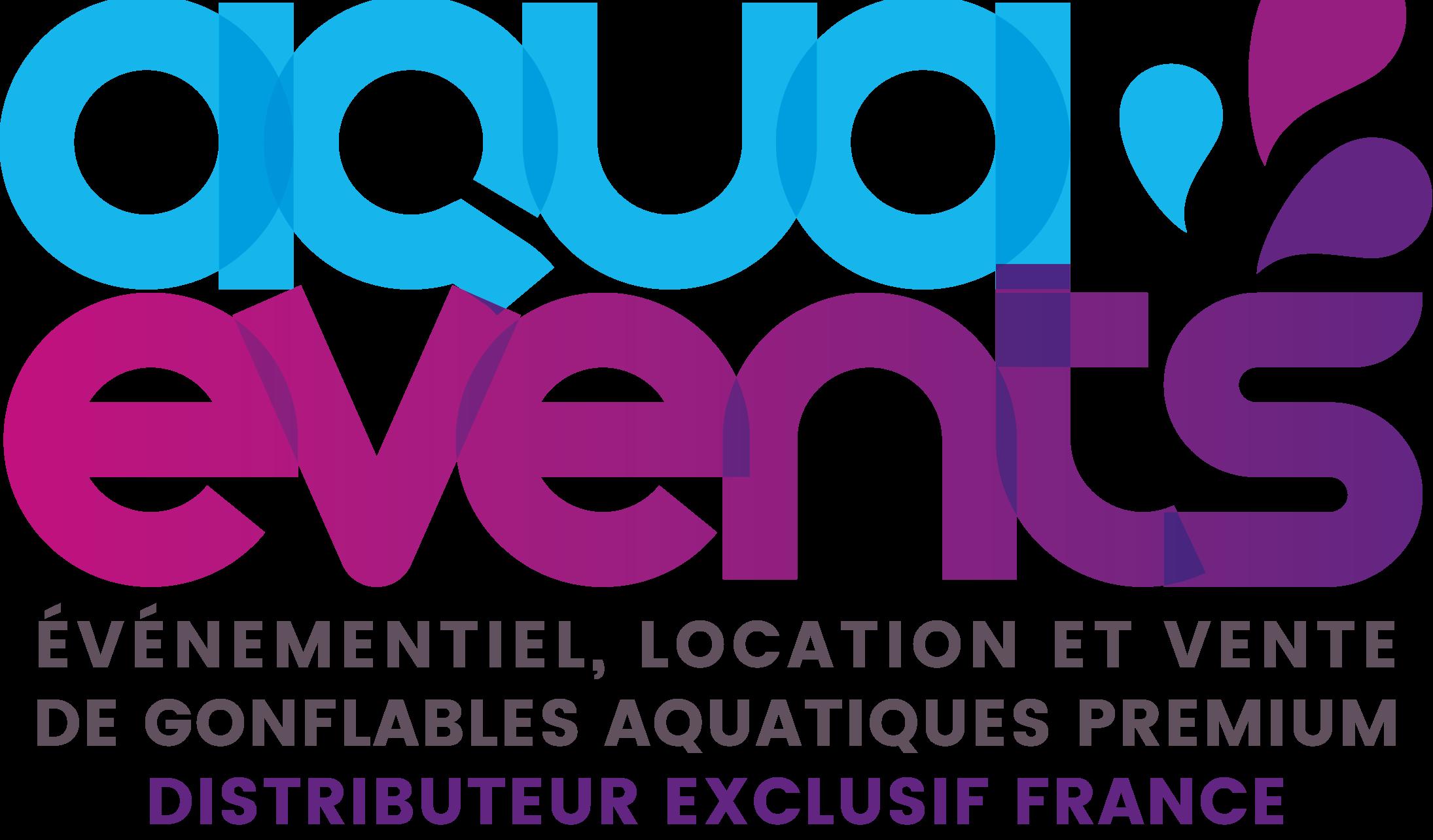 AquaEvents-logo location distributeur exclusif france violet